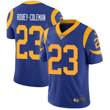 Men's Nike Los Angeles Rams Nickell Robey-Coleman Alternate Jersey - Royal Blue Limited