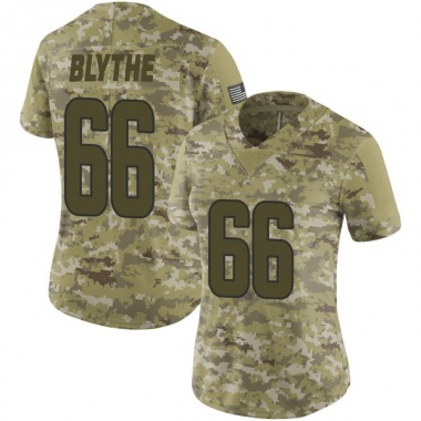 Women's Nike Los Angeles Rams Austin Blythe 2018 Salute to Service Jersey - Camo Limited