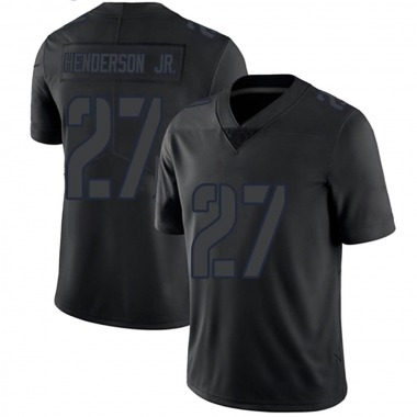 Youth Nike Los Angeles Rams Darrell Henderson Jersey - Black Impact Limited