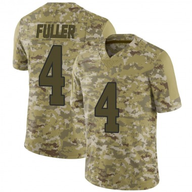 Youth Nike Los Angeles Rams Jordan Fuller 2018 Salute to Service Jersey - Camo Limited