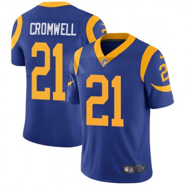 Youth Nike Los Angeles Rams Nolan Cromwell Alternate Jersey - Royal Blue Limited